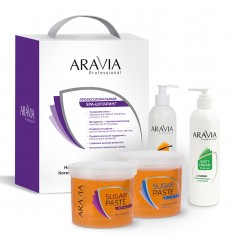 Промо-набор 3+1 для шугаринга №3 Aravia professional