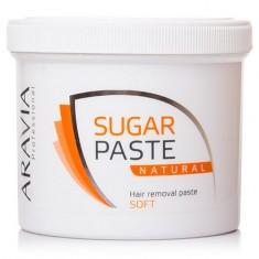 ARAVIA Professional, Сахарная паста «Натуральная» (мягкой консистенции), 750 г