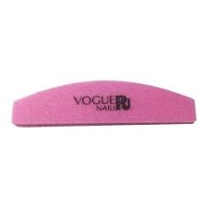 Vogue Nails, Полировщик для искусcтвенных ногтей, лодочка, 100/180