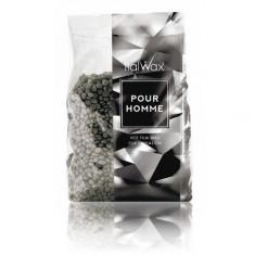 Italwax, Воск горячий (пленочный) Pour Homme, гранулы, 1 кг White Line