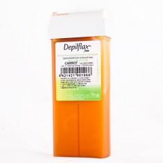 Depilflax, воск в картридже 110 г, морковь