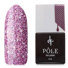POLE, Гель-лак №203, Розовый топаз