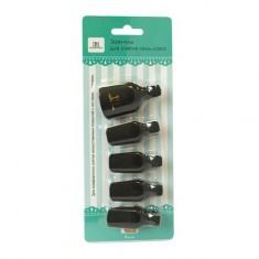 TNL, Зажимы для снятия искусственных покрытий для ног, черные TNL Professional