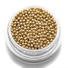 TNL, Бульонки металлические 1,5 мм (золото) TNL Professional