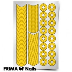 Prima Nails, Трафареты «Френч и лунки»