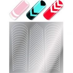 Мilv, Трафареты для дизайна ногтей MILV