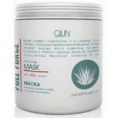 Ollin Professional Full Force Moisturizing Mask With Aloe Extract - Увлажняющая маска с алоэ, 250 мл. Ollin Professional (Россия)