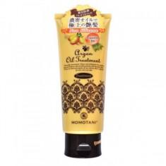 бальзам для волос с маслом арганы momotani organic argan treatment