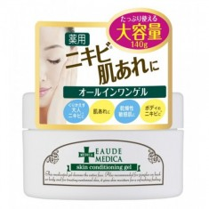 гель – кондиционер для ухода за проблемной кожей momotani eaude skin conditioning gel