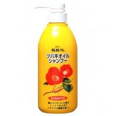 шампунь для поврежденных волос с маслом камелии kurobara camellia oil hair shampoo