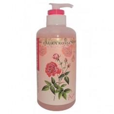 """жидкое мыло для тела """"ароматерапия - роза"""" laura rosse body wash rose"""