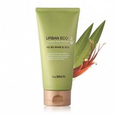 пенка для умывания увлажняющая the saem urban eco harakeke foam cleanser