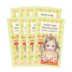 набор пластырей черных точек the saem secret pure nose clear patch set (8pcs)