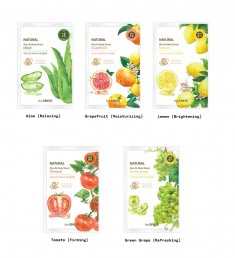 маска тканевая the saem natural skin fit mask sheet