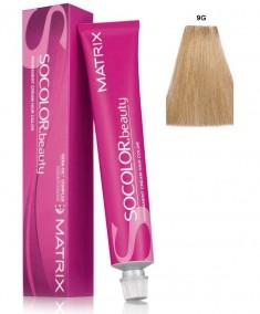 MATRIX 9G краска для волос, очень светлый блондин золотистый / СОКОЛОР БЬЮТИ 90 мл