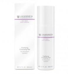 JANSSEN Гель очищающий / Clarifying Cleansing Gel OILY SKIN 200 мл