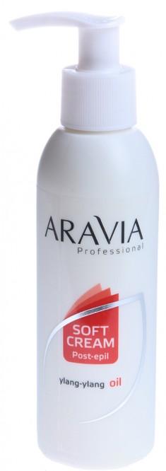 ARAVIA Сливки с маслом иланг-иланг для восстановления рН кожи (флакон с дозатором) 150 мл