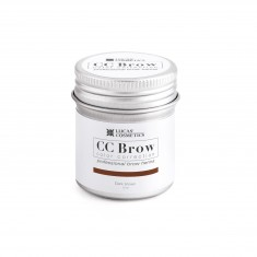 LUCAS' COSMETICS Хна для бровей, темно-коричневый (в баночке) / CC Brow dark brown 5 г