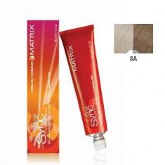 MATRIX 8A краска для волос, светлый блондин пепельный / КОЛОР СИНК 90 мл