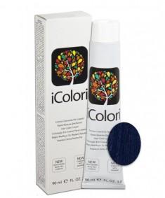 KAYPRO Краска для волос, синий / ICOLORI 90 мл