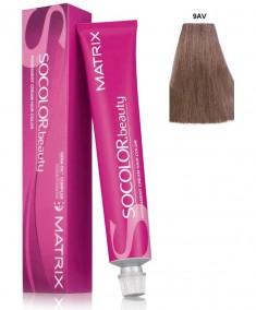 MATRIX 9AV краска для волос, очень светлый блондин пепельно-перламутровый / СОКОЛОР БЬЮТИ 90 мл