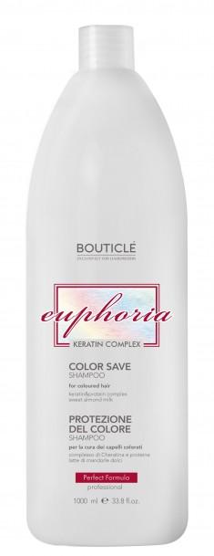 BOUTICLE Шампунь с Keratin & Protein Complex для окрашенных волос / Color Save Shampoo 1000 мл