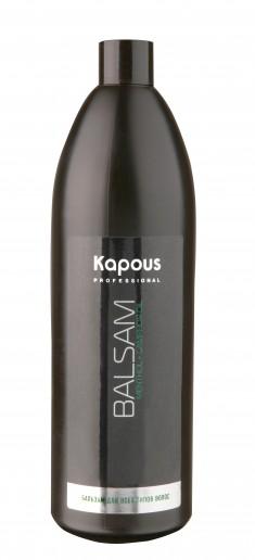 KAPOUS Бальзам с ментолом и маслом камфоры для всех типов волос 1000 мл
