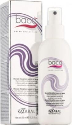 KAARAL Спрей-блеск для светлых, седых и желтых волос / BACO 150 мл