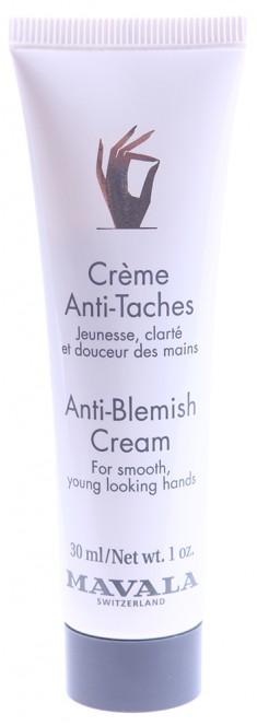 MAVALA Крем против пигментных пятен / Anti-Blemish Cream for hands 30 мл