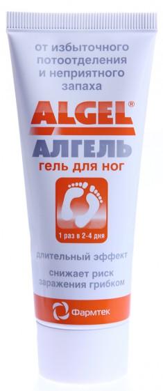 ФАРМТЕК Крем против обильного потоотделения для ног / Algel 75 мл Фармтек