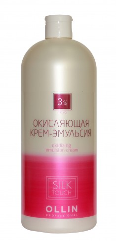 OLLIN PROFESSIONAL Крем-эмульсия окисляющая 3% (10vol) / Oxidizing Emulsion cream SILK TOUCH 1000 мл