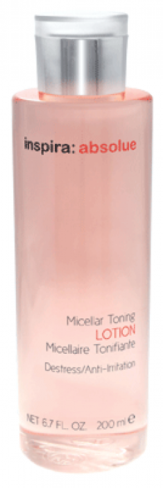INSPIRA COSMETICS Тоник мицеллярный / Micellar Toning Lotion INSPIRA ABSOLUE 200 мл Janssen