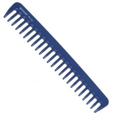 DEWAL BEAUTY Гребень синий 18,5 см