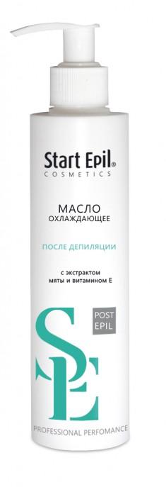 ARAVIA Масло охлаждающее с экстрактом мяты и витамином Е после депиляции / START EPIL 200 мл