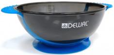 DEWAL PROFESSIONAL Чаша для краски с двумя ручками, с прорезиненной вставкой (синяя) 300 мл