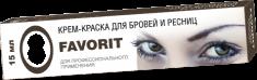 FARMAVITA Краска для бровей и ресниц, графит / FAVORIT 15 мл