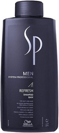 WELLA SP Шампунь освежающий, для мужчин / Refresh Shampoo 1000 мл