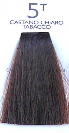 SHOT 5T краска с коллагеном для волос, светлый шатен табачного оттенка / DNA COLOR 100 мл