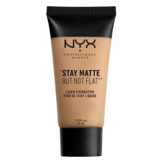 Основа тональная для лица NYX PROFESSIONAL MAKEUP STAY MATTE BUT NOT FLAT тон 06 Medium beige матирующая