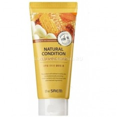 The Saem Natural Condition Cleansing Foam Double Whip