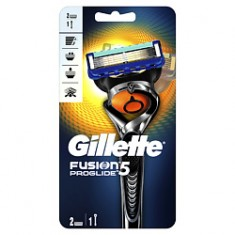 GILLETTE Бритва Fusion ProGlide Flexball с 2 сменными кассетами Станок + 2 кассеты