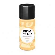 Жидкость для снятия лака PINK UP DAILY с ацетоном Персик 100 мл