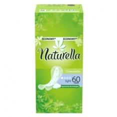 NATURELLA Женские гигиенические прокладки на каждый день Camomile Light Trio 60 шт.