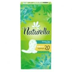 NATURELLA Женские гигиенические прокладки на каждый день Green Tea Magic Normal (с ароматом зеленого чая) Single 20 шт.