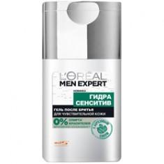 L`OREAL Гель после бритья с березой Men Expert HYDRA SENSITIVE для чувствительной кожи 125 мл L`OREAL PARIS