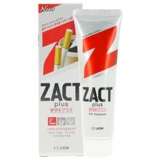 Паста зубная LION ZACT PLUS Отбеливающая для курящих 150 г CJ LION