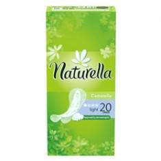 NATURELLA Женские гигиенические прокладки на каждый день Camomile Light Single 20 шт.