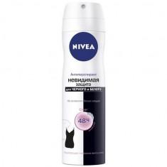 Нивея дезодорант спрей невидимая защита клеа д/черного и белого 150мл (82237) NIVEA