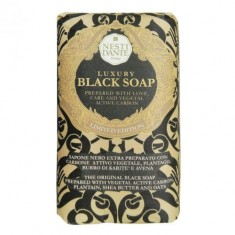 Нести Данте мыло Luxury Black Soap Роскошное чёрное 250г NESTI DANTE