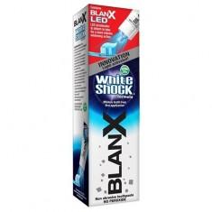Бланкс зубная паста со светодиодной крышкой White Shock+ Blanx Led 50мл
